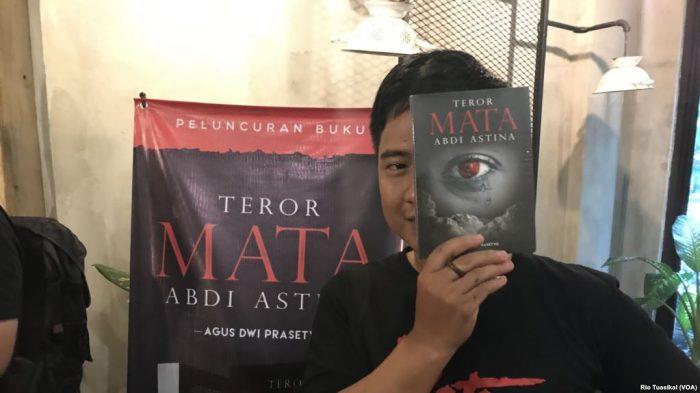 "Novel ""Teror Mata Abdi Astina""  Ungkap Kisah  Novel Baswedan"
