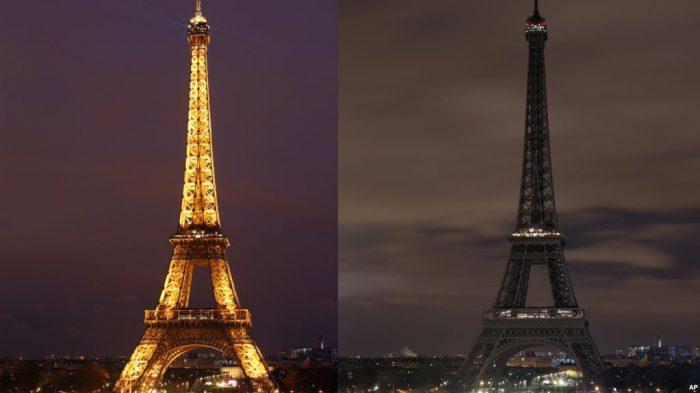 Hormati Wartawan Jamal Khashoggi, Lampu di Menara Eiffel Dipadamkan