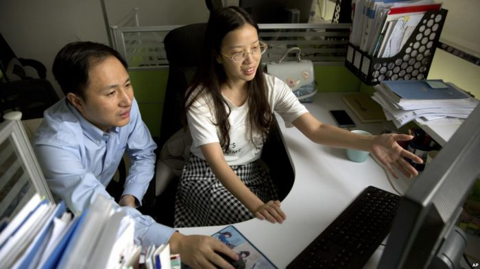 Bayi Kembar Hasil Rekayasa Gen Lahir di China