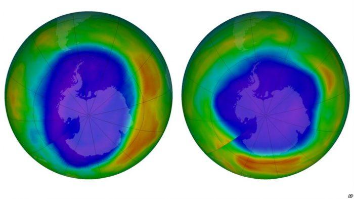 Laporan PBB Lapisan Ozon Bumi Mulai Pulih