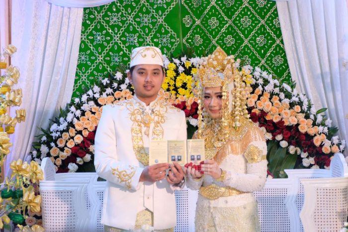Momen Istimewa di Pernikahan Putri Gubernur Kalbar