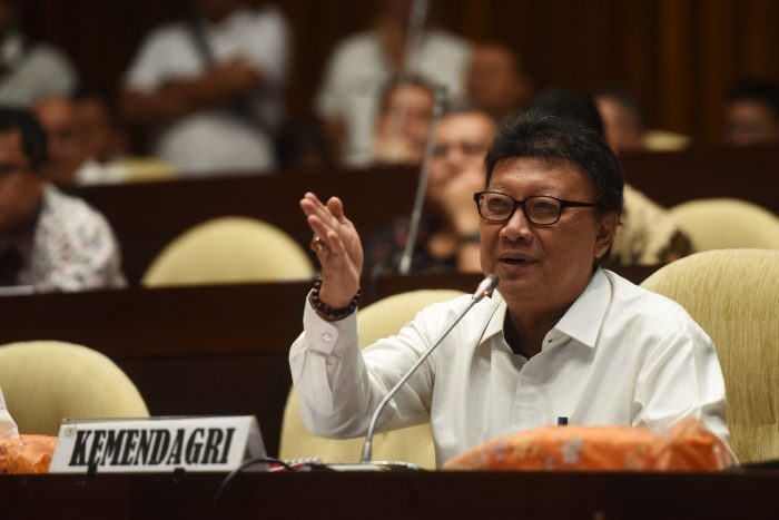 Tjahjo : Kepala Daerah Jangan Ragu Berhentikan Sekda Yang Tidak patuh