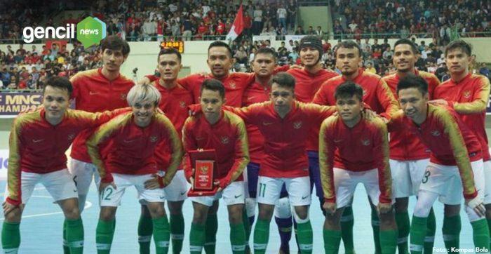Piala AFF Futsal 2018, Indonesia mengalahkan Myanmar dengan skor 5-1