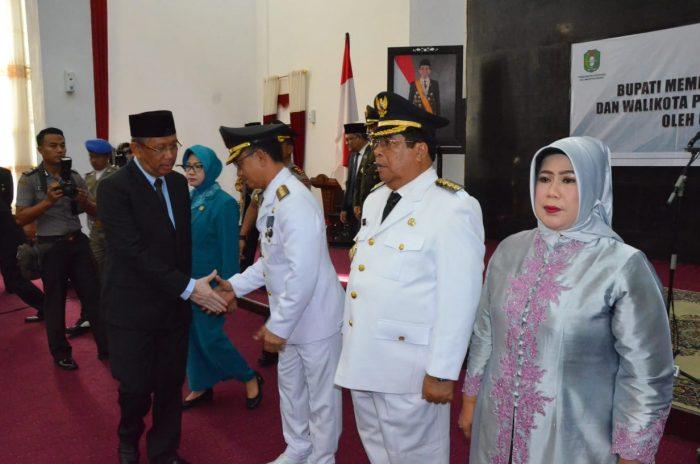 Gubernur Kalbar Lantik Gusti Ramlana sebagai Plt Bupati Mempawah