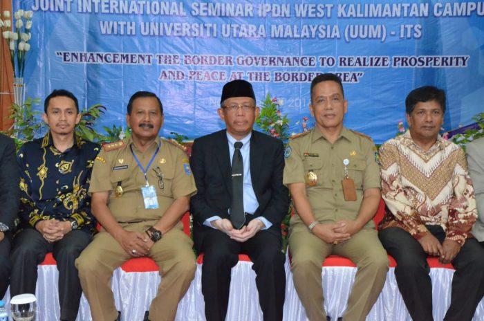 Gubernur Sutarmidji Buka Seminar Internasional IPDN dan UUM Malaysia