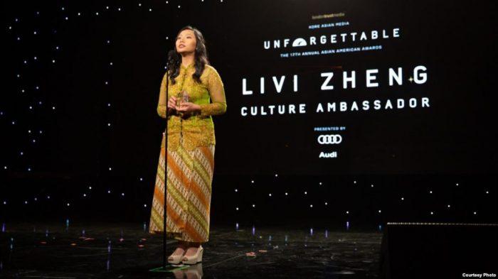 Sutradara Indonesia Livi Zheng Raih Penghargaan Internasional