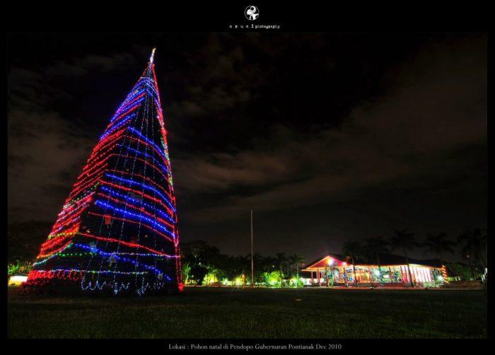 Adakah Pohon Natal di Pendopo Gubernur Kalbar Tahun ini?
