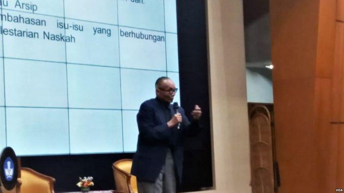 Indonesia Kekurangan Peneliti Naskah Sejarah Kuno