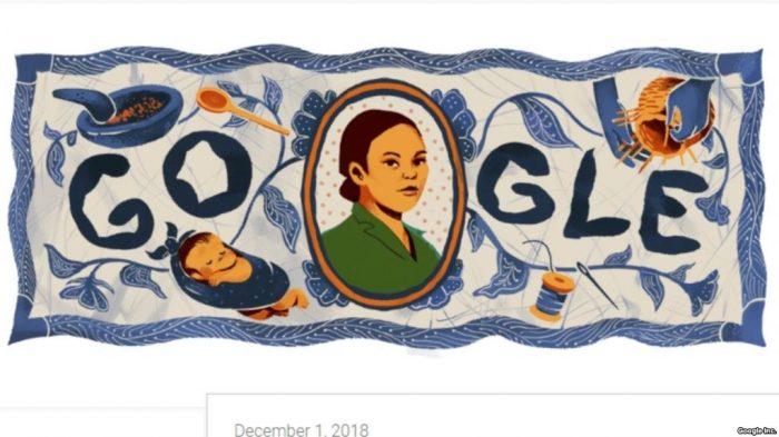 Google Tampilkan Pahlawan Indonesia, Maria Walanda Maramis