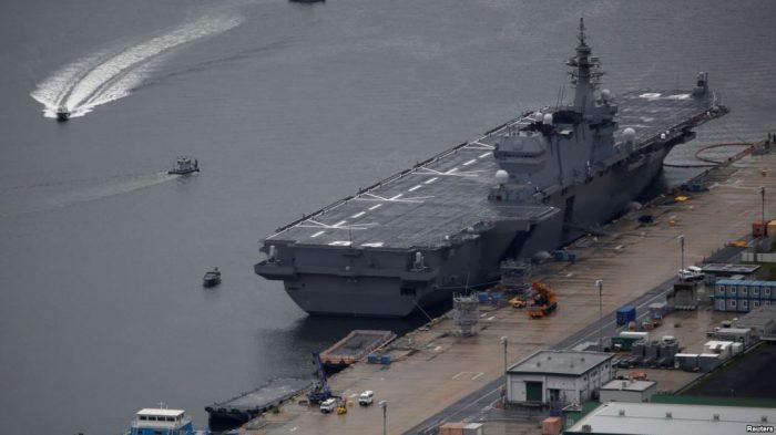 Tingkatkan Pertahanan, Jepang Bangun Kapal Induk Canggih