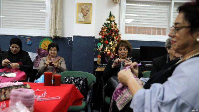 Nazaret Menjaga Tradisi Arab Menjelang Natal