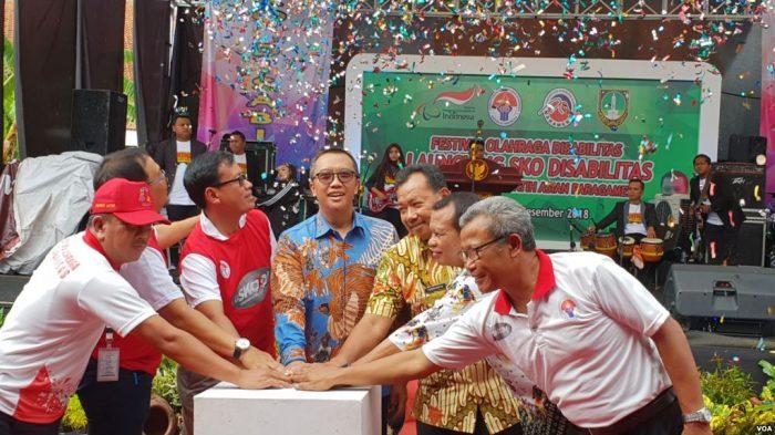 Pertama di Indonesia Sekolah Khusus Olahraga Difabel