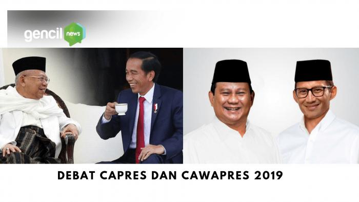 Ini Dia Tema dan Jadwal Debat Pilpres 2019
