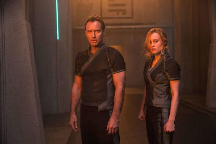 Jude Law memulai debut live action-nya di Captain Marvel