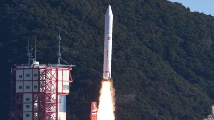 Jepang Luncurkan Meteor Buatan ke Luar Angkasa