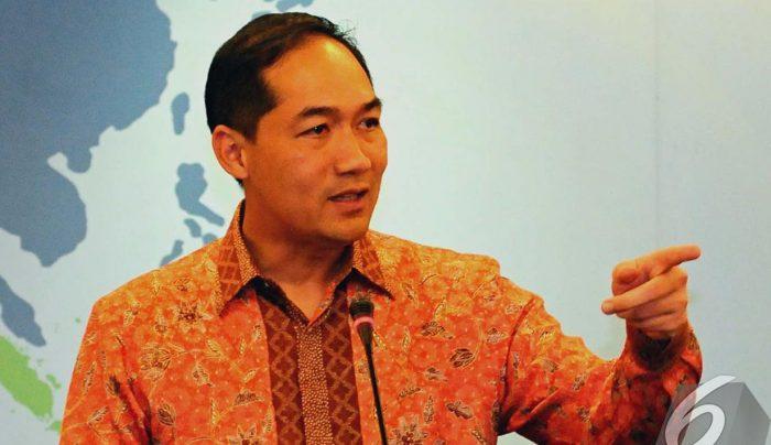Muhammad Lutfi Paparkan Pencapaian dan Program  Jokowi-Ma'ruf di Forum USINDO
