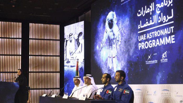 Astronot Pertama dari Uni Emirat Arab ke Luar Angkasa