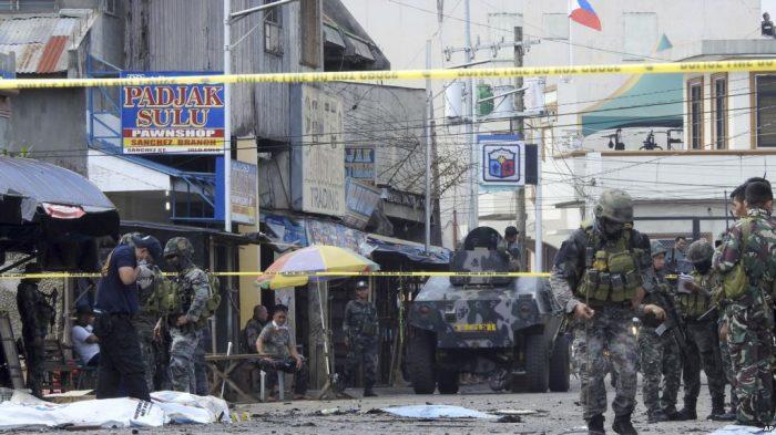 Otorita Filipina Pastikan Pembom Bunuh Diri adalah Suami-Istri Indonesia