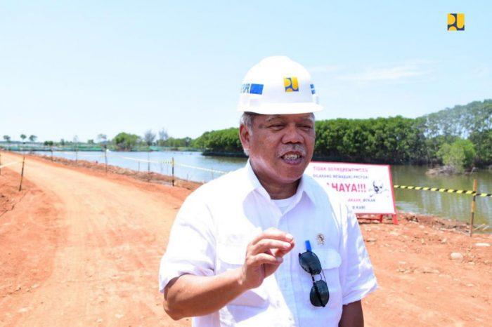 Atasi Banjir Rob Pekalongan, Pembangunan Tanggul 7,2 Km Selesai Akhir 2019