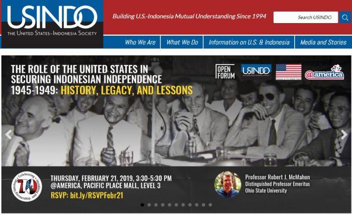 USINDO Organisasi Yang Bertujuan Meningkatkan Hubungan Indonesia – AS
