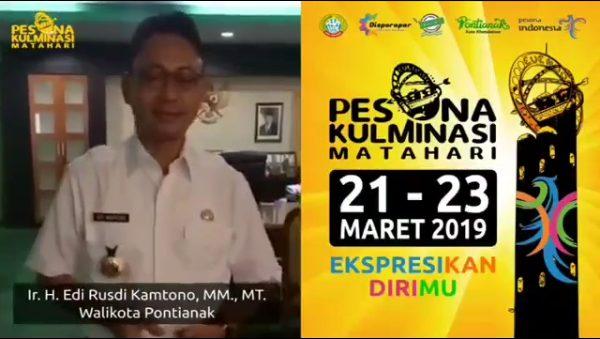 Pemkot Pontianak Gelar Pesona Kulminasi Matahari 2019