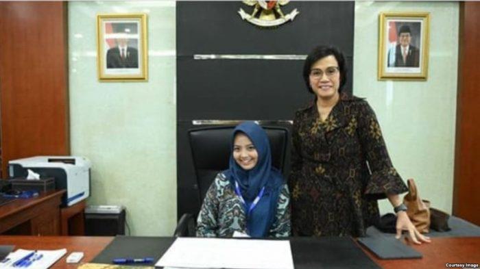 Tania Siswa SMA 4 Surakarta Menjadi Menkeu Gantikan Sri Mulyani