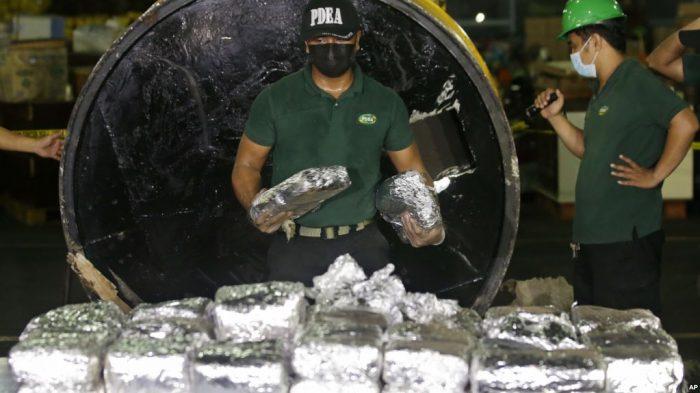 Produksi Sabu-Sabu Melonjak Pesat di Asia Tenggara