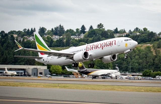 Ethiopian Airlines Boeing 737 Max 8  Jatuh dalam Perjalanan ke Nairobi