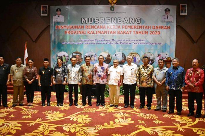 Gubernur Sutarmidji Minta Membangun Berdasarkan Data Yang Akurat