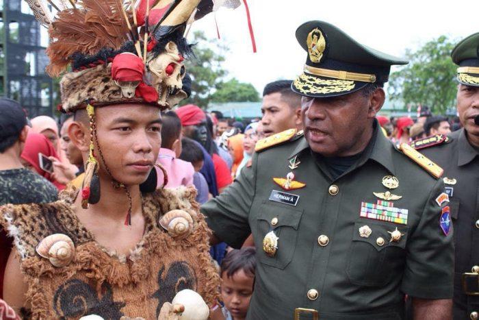 25 Pemuda Dari Wilayah Perbatasan Jadi Prajurit TNI AD
