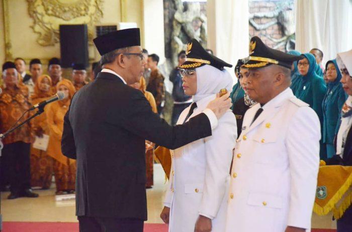 Gubernur Sutarmidji Lantik Bupati dan Wakil Bupati Kabupaten Mempawah