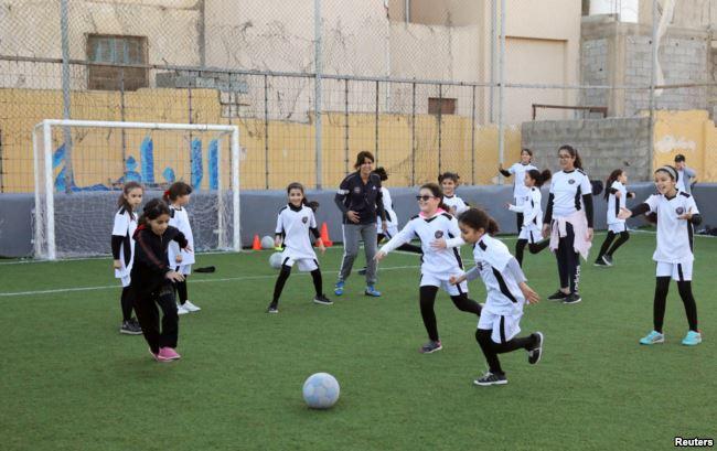 Perjuangan Persamaan Hak Perempuan Libya Lewat Sepak Bola