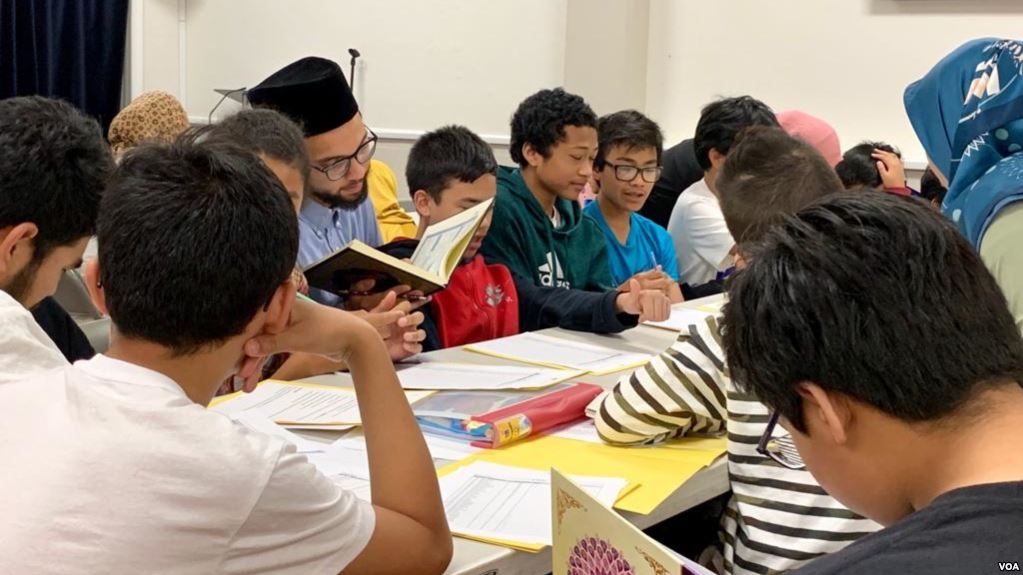 Pesantren Kilat Anak-anak selama Bulan Ramadan di Washington