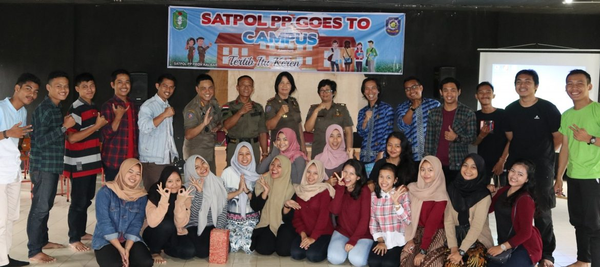 Satpol PP Goes to Campus
