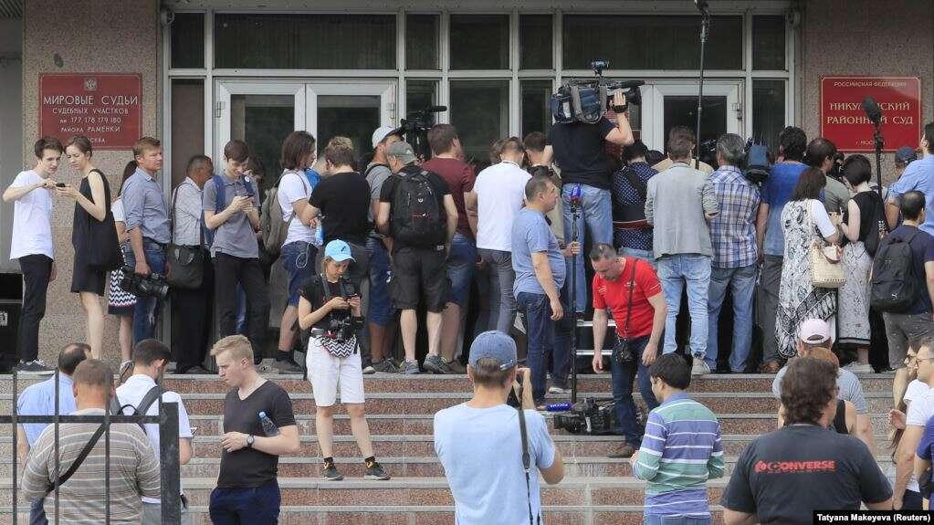 Jurnalis adalah Pekerjaan Berbahaya di Rusia