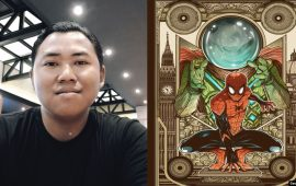 "Adhitya Zulkarnaen Menang Kontes Poster ""Spiderman: Far From Home"""