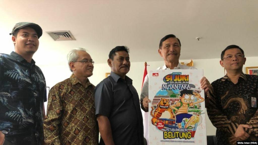 Lewat Komik Pemerintah Perkenalkan 10 Destinasi Bali Baru