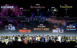 Marvel Cinematic Universe Phase 4  Berisi 11 Film dan Serial TV