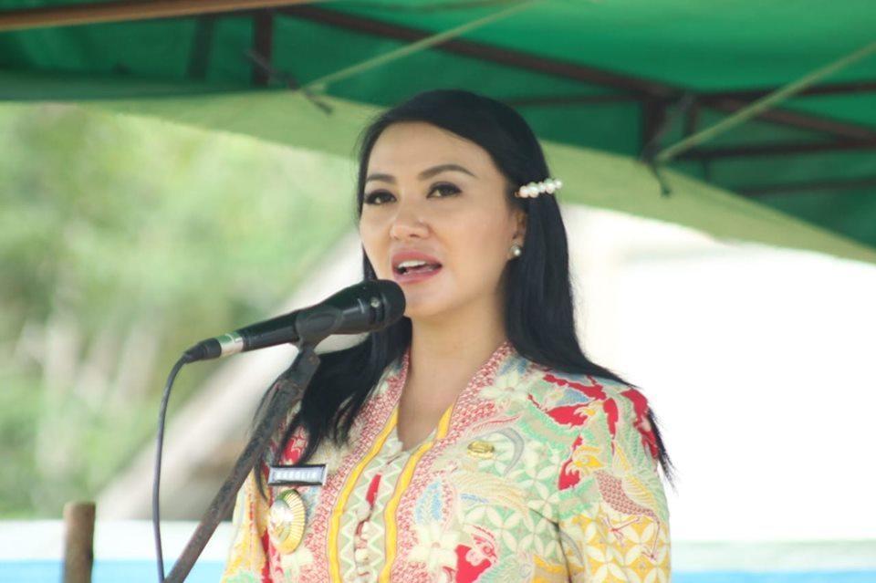 Karolin Minta Masyarakat Ikut Andil Sukseskan Pilkades Serentak 2019