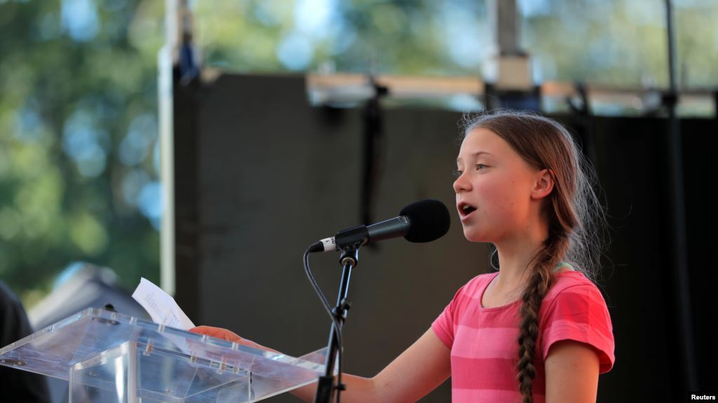 Aktivis Remaja Greta Thurnberg