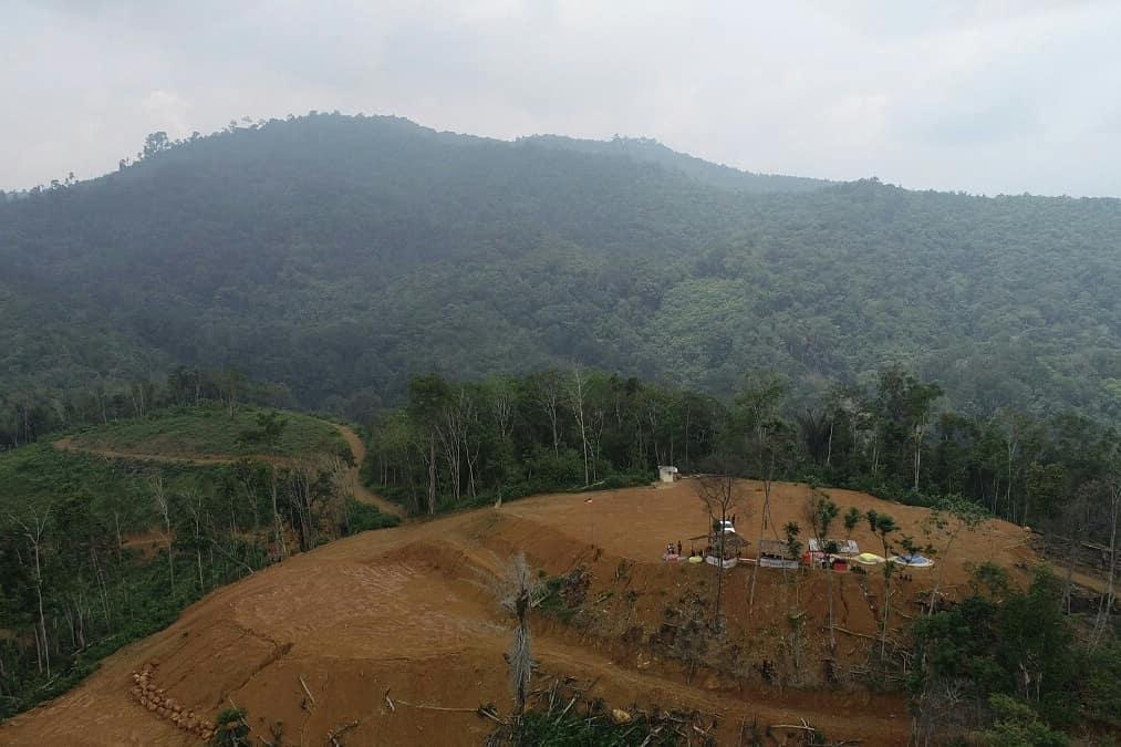 Karolin Apresiasi Bukit Angkih Untuk Menjadi Ikon Wisata