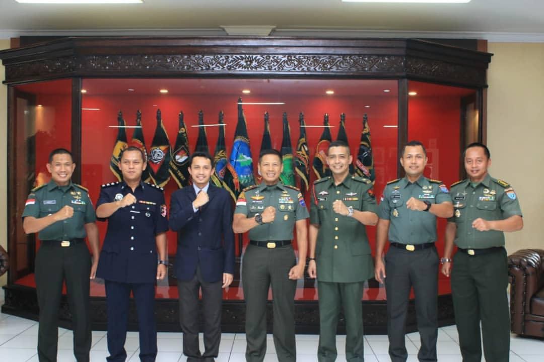 Pangdam XII/Tanjungpura Terima Kunjungan Konsulat Malaysia