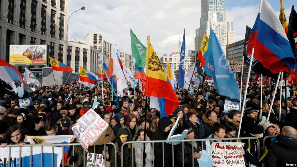 Rusia Perketat Penggunaan Internet