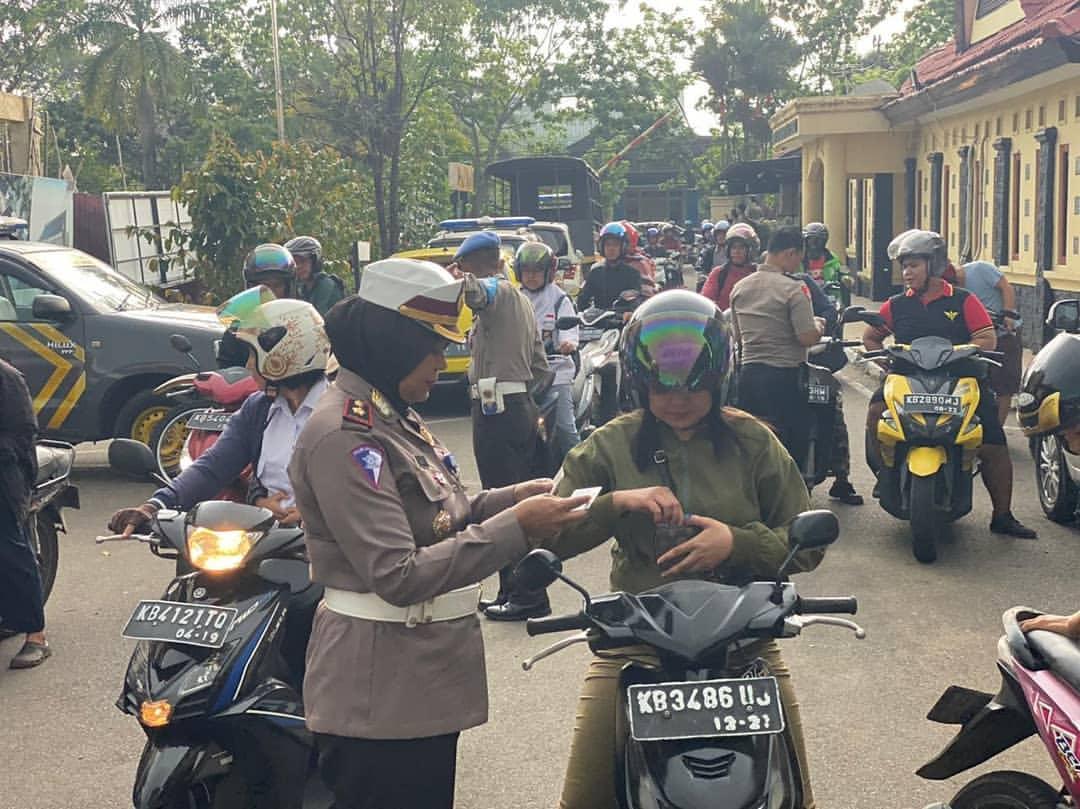 Operasi Zebra Kapuas 2019 Terbitkan 11.574 Tilang dan 1.610 Teguran