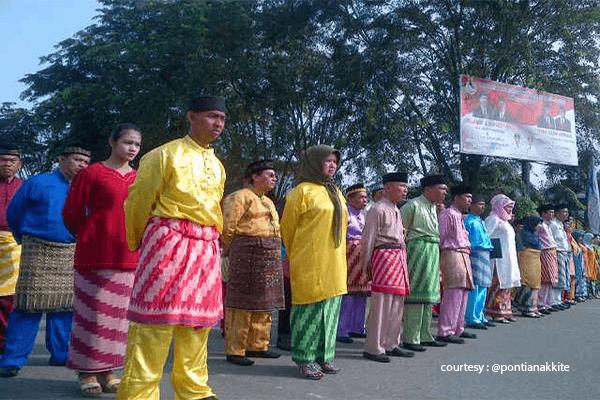 Meriahkan Hari Jadi ke 248, ASN Pemkot Kenakan Pakaian Adat Melayu Khas Pontianak