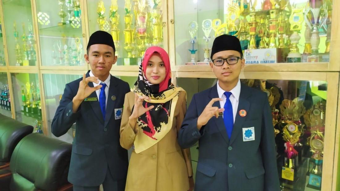 Dua Siswa Madrasah Aliyah Raih Dua Medali di SEAMO 2019