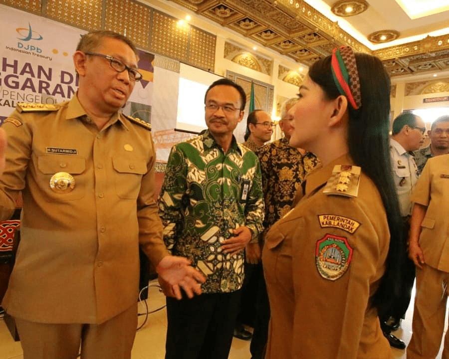 Bupati Landak Terima DIPA dan TKDD dari Gubernur Kalbar