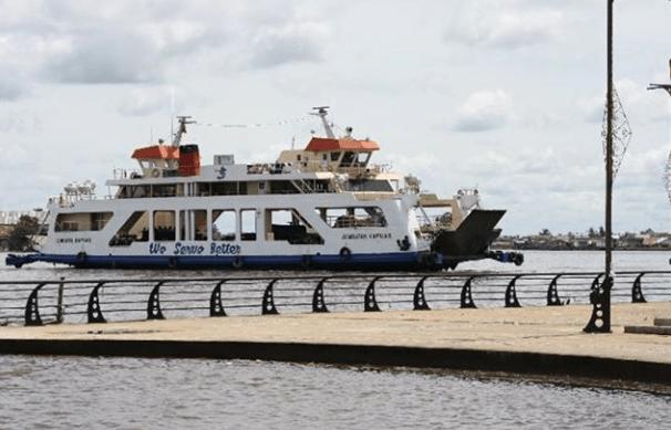 Ferry Penyeberangan Siantan Sementara Di tutup