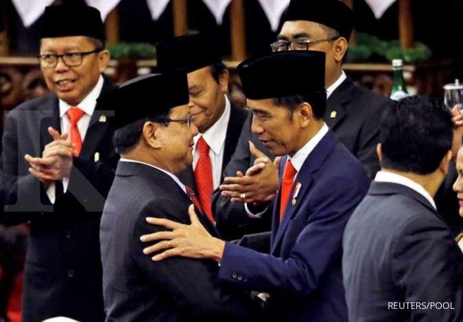 Jokowi Jawab Kritikan Soal Menhan Prabowo Yang Sering Ke Luar Negeri