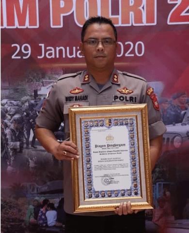 Peringkat Satu Polres Terbaik Se-Indonesia Diraih Polres Kapuas Hulu